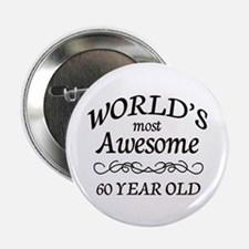 "Awesome Birthday 2.25"" Button"