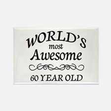 Awesome Birthday Rectangle Magnet