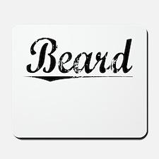 Beard, Vintage Mousepad