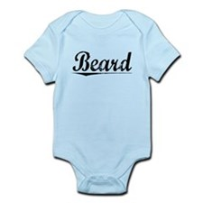 Beard, Vintage Infant Bodysuit