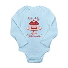 Be My Valentine Long Sleeve Infant Bodysuit