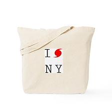 Hurricane Sandy New York Tote Bag