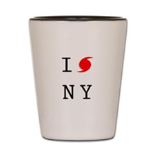 Hurricane Sandy New York Shot Glass