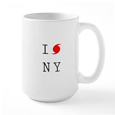 Hurricane Sandy New York Mug