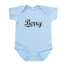 Berry, Vintage Infant Bodysuit