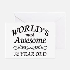 Awesome Birthday Greeting Card
