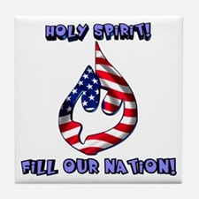 Holy Spirit! Tile Coaster