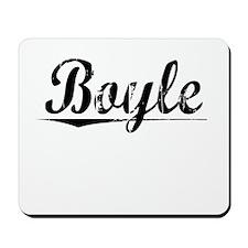 Boyle, Vintage Mousepad