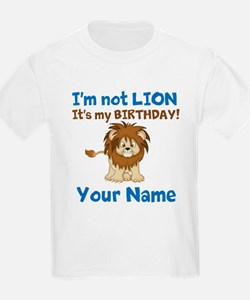 Lion Birthday T-Shirt