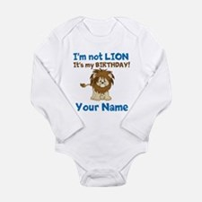 Lion Birthday Long Sleeve Infant Bodysuit