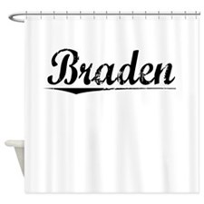 Braden, Vintage Shower Curtain