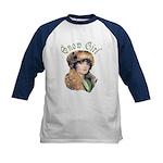 Snow Girl Kids Baseball Jersey