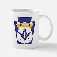 Masonic Police Officers  Mug