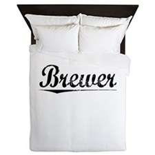 Brewer, Vintage Queen Duvet
