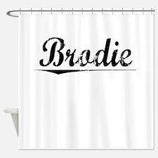 Brodie, Vintage Shower Curtain