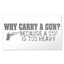 Why Carry A Gun? Decal