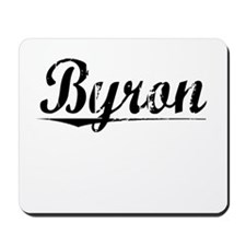 Byron, Vintage Mousepad