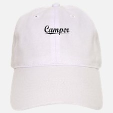 Camper, Vintage Baseball Baseball Cap