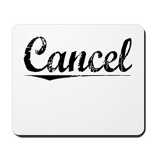 Cancel, Vintage Mousepad