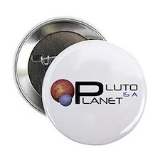 """Unique Save pluto 2.25"""" Button (10 pack)"""