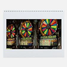 Las Vegas Slots Wall Calendar