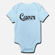 Caver, Vintage Infant Bodysuit