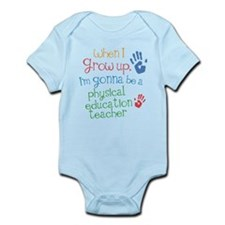 Future Physical Education Teacher Infant Bodysuit