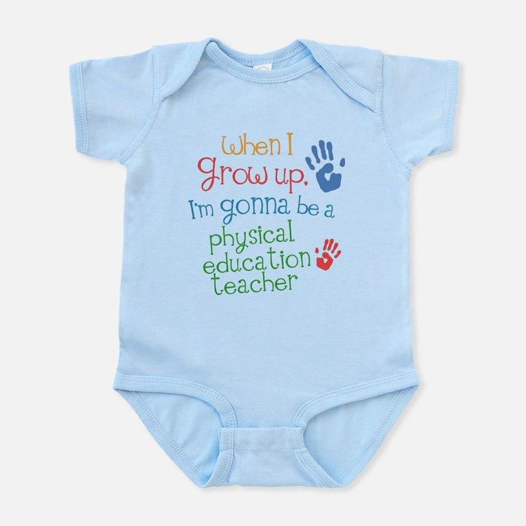 Future Physical Education Teacher Infant Bodysuit