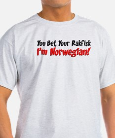 Bet Your Rakfisk Norwegian T-Shirt
