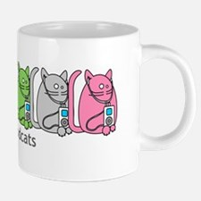 Podcats iPod Podcast Cat Humor Mugs