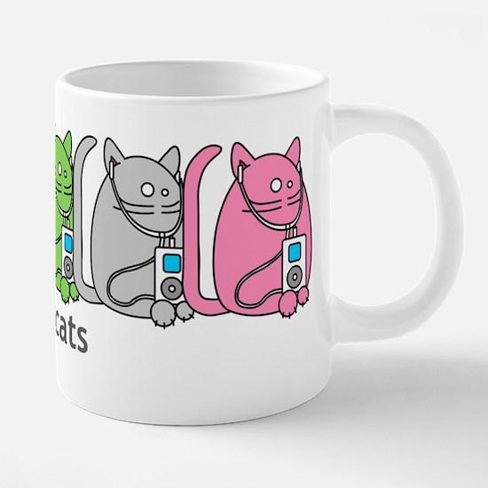 Podcats iPod Podcast Cat Humor Mugs