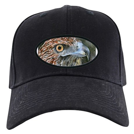 Red Tail Hawk Black Cap