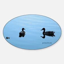 Duck romance Decal