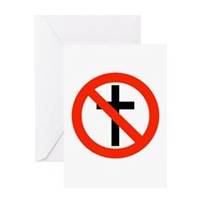 No Religion Greeting Card