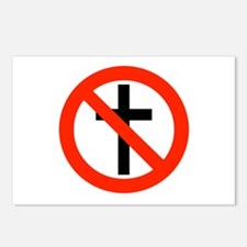 No Religion Postcards (Package of 8)