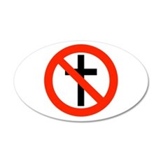No Religion Wall Decal