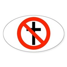 No Religion Decal