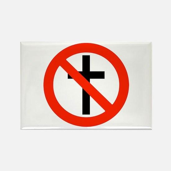 No Religion Rectangle Magnet