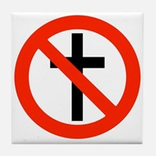 No Religion Tile Coaster