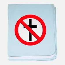No Religion baby blanket