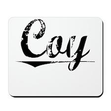 Coy, Vintage Mousepad
