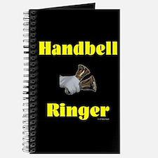 Handbell Ringer Black Journal