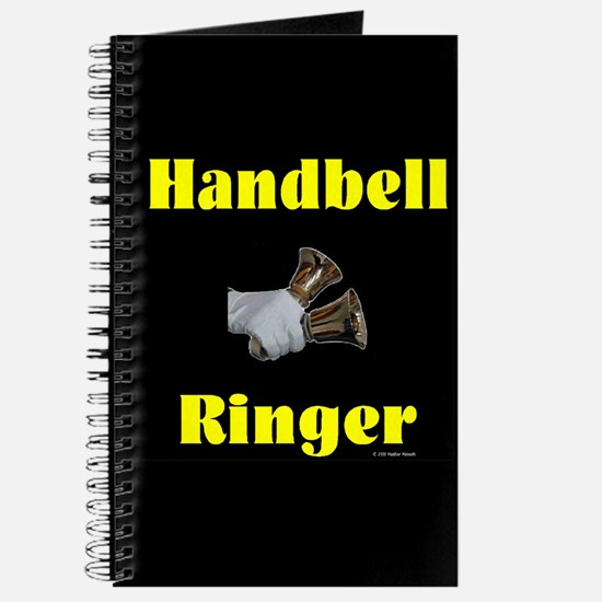 Handbell Ringer Black Journal