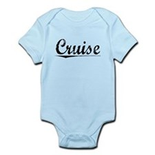Cruise, Vintage Infant Bodysuit