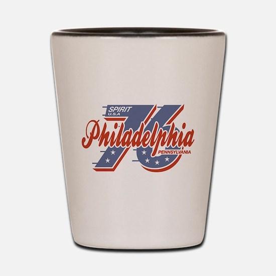Philadelphia Spirit Shot Glass