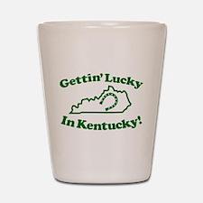 Lucky Kentucky Shot Glass