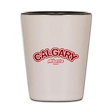 Calgary Leaf Shot Glass