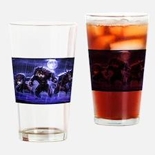 werewolves Drinking Glass