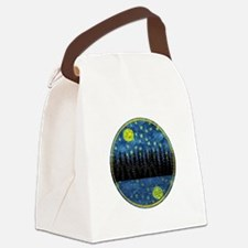 LOVELY NIGHT Canvas Lunch Bag