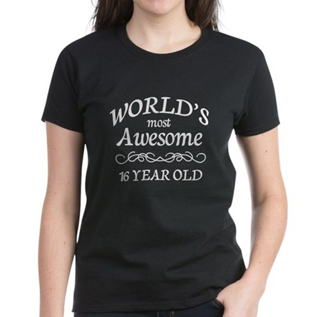 Awesome Birthday Women's Dark T-Shirt